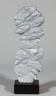 Philosothers Stone, marble sculpture