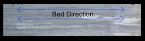 Stone bed direction