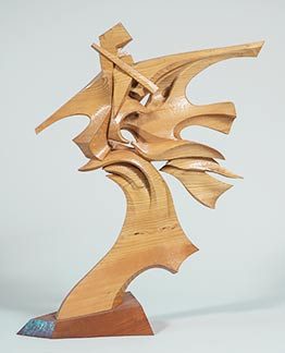 Sea Dancer, wood sculpture